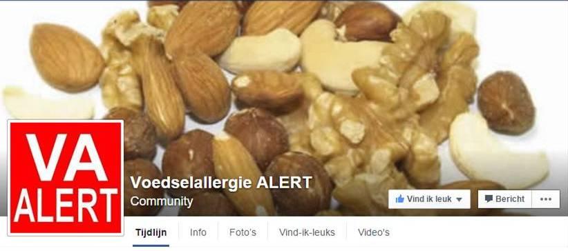 Voedselallergie Alert
